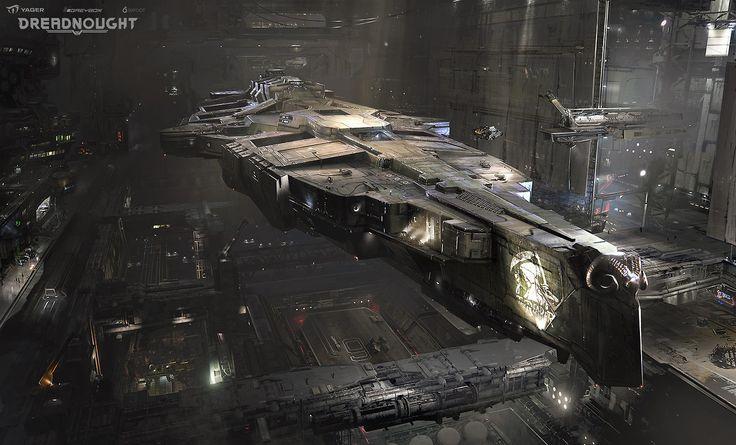 Dreadnought: Hangar concepts - Yuriy Mazurkin