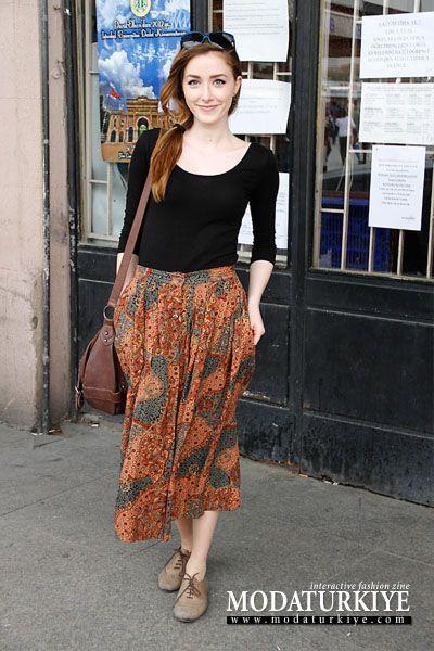 3006 Numaralı Sokak Modası Fotoğrafı - Sokak Stili - MODATURKIYE.COM - Interactive Fashion Zine
