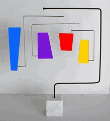 RETRO Hanging Tabletop Mobile