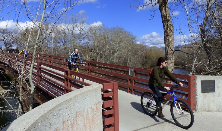 The Boise River Greenbelt offers paved riverfront biking trails that thread through Idaho's capital. The trail is a fun and easy way to explore Boise's burgeoning craft-beer scene.