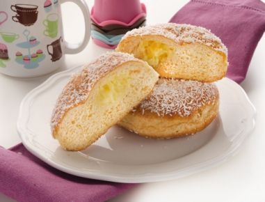 Vanillekrapfen - Rezept   Donuts   Pinterest