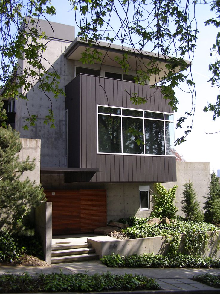 73 best images about nw modern home design on pinterest for Seattle modern house