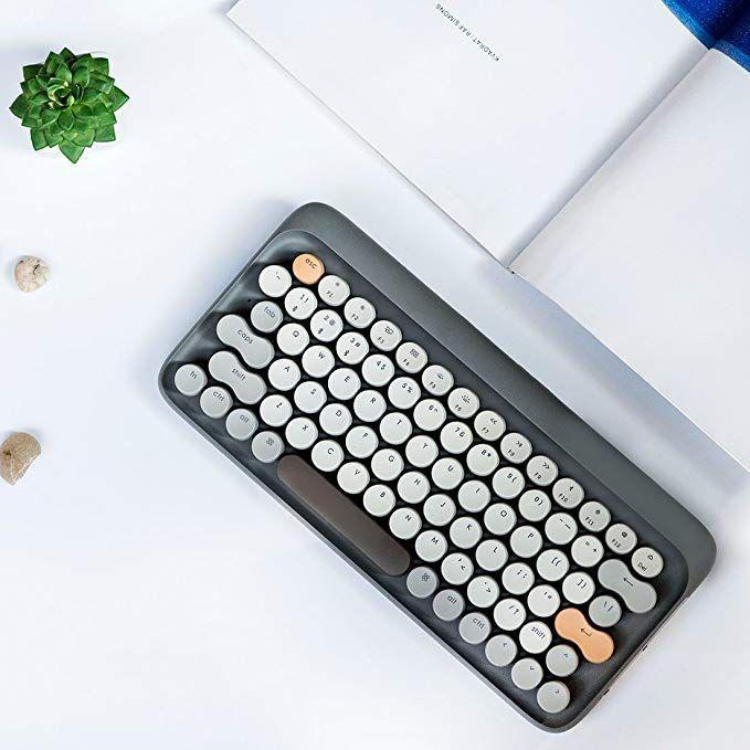 Amazon Com Vintage Keyboard Retro Keyboard Lofree Four Seasons Bluetooth Wireless Mechanical Keyboard For Mac Androi In 2020 Keyboard Bluetooth Keyboard New Mac Mini
