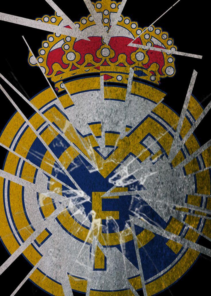 Real Madrid club logo wallpaper