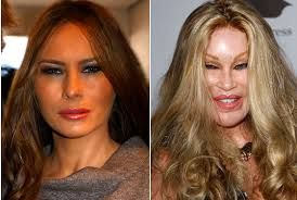 Only 5 more years until Mrs Trump turns 50.  Then she will be turned in for a much younger model.