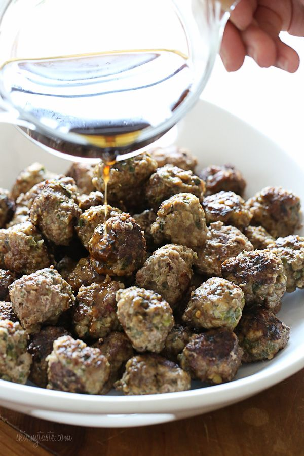 Honey-Lime Meatballs