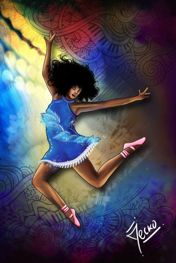 """Danza """"Yanina Bermejo"""", JECKO JC on ArtStation at https://www.artstation.com/artwork/LaBr0"""