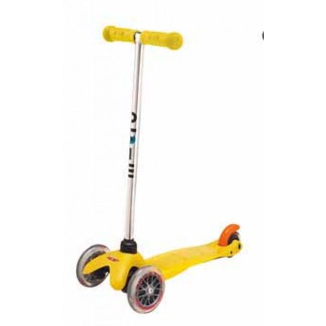 #Entropywishlist #pintowin This is my favourite toy EVER! We just threw out a well loved one that needs replacing. Microscooters - Mini Micro Scooter Yellow