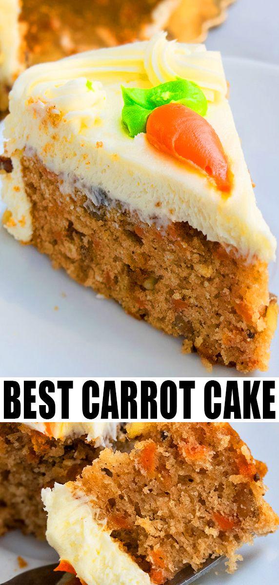 Einfaches Karottenkuchen-Rezept (von Grund auf neu)