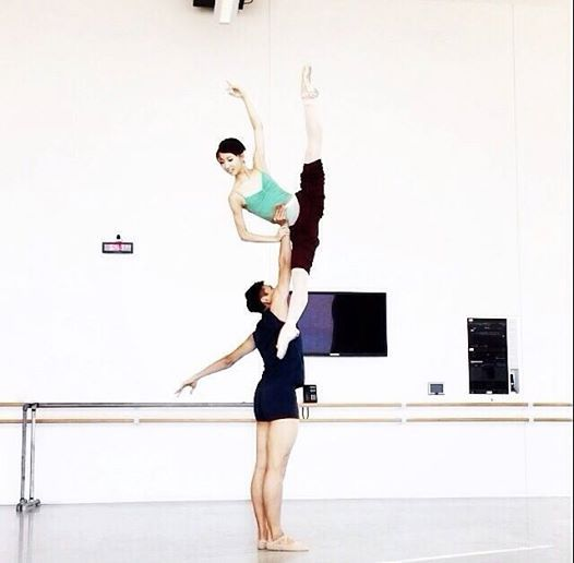Lovely Don Quixote Pas de Deux from Houston Ballet dancers Nozomi Iijima and Chunwai Chan!