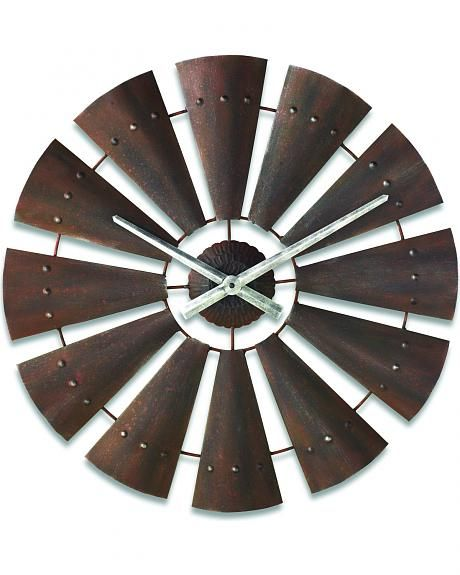 Big Sky Carvers by Demdaco Windmill Clock