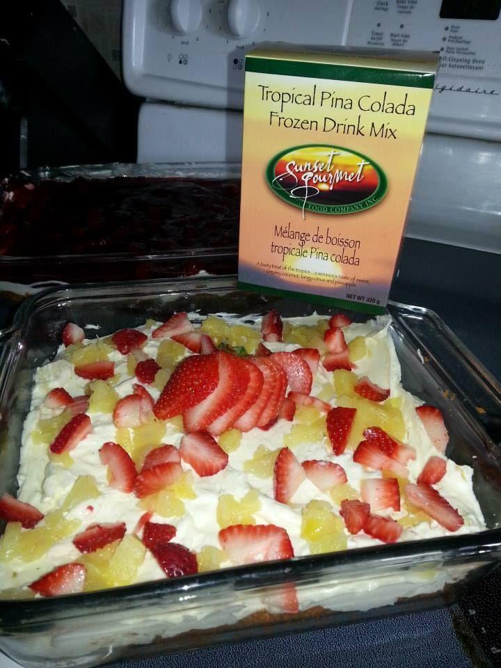 Maranda's Whipped Pina Colada Cheesecake