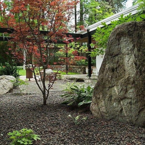 Jahrhundertmitte-Landschaft-Japanische gartengestaltung