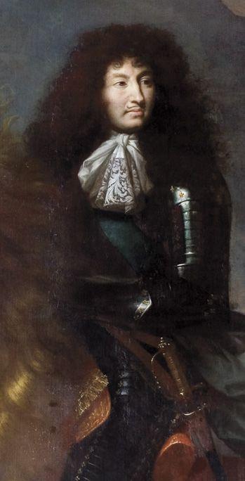 Lodewijk XIV. schilderij stadscollectie Oudenaarde