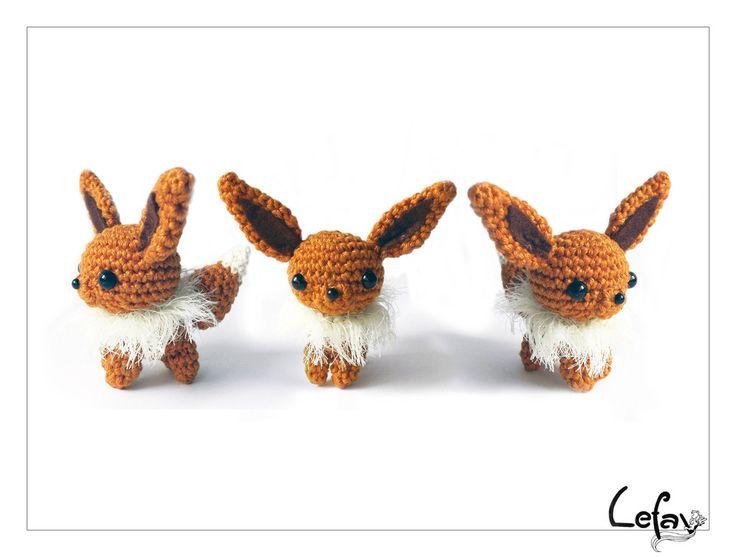 Mejores 124 imágenes de Crochet Pokemon en Pinterest | Artesanías ...