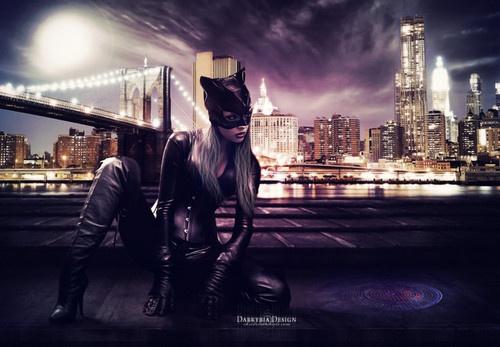 Catwoman by DarkyriaDesign: Darkyriadesign Pictures, Villai, Art, Catwoman, Admire