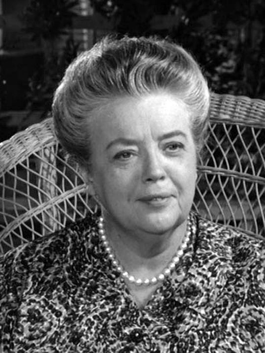The Andy Griffith Show (TV show) Frances Bavier as Aunt Bee Taylor
