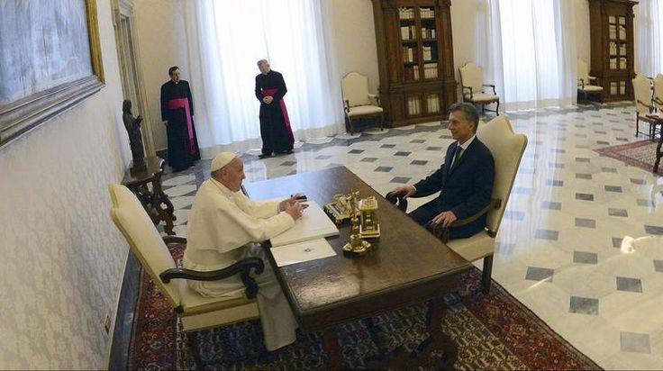 El papa Francisco y Mauricio Macri por la vía de la reconciliación - Infobae.com