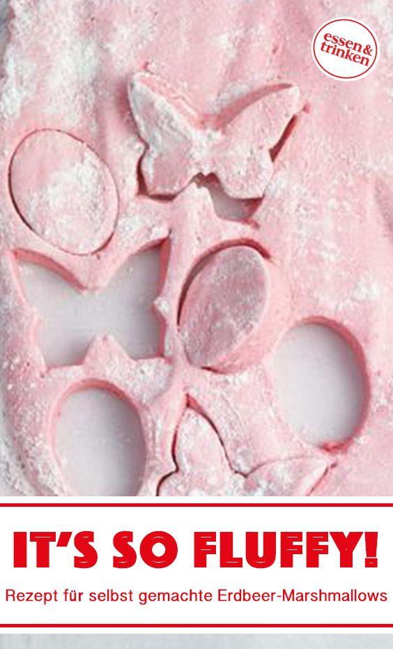 Rezept für Erdbeer-Marshmallows