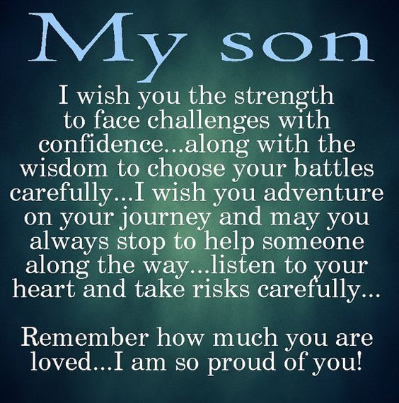 for Dakota when he graduates High School this year and heads to University of Mount Olive...I wish you this!