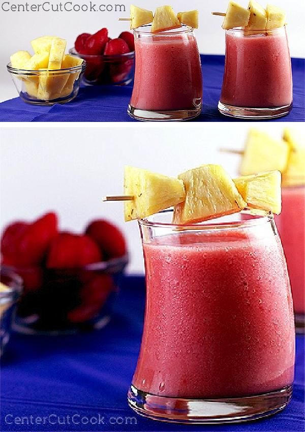 I can't think of a better way to start your day than with this refreshing STRAWBERRY PINEAPPLE SMOOTHIE!