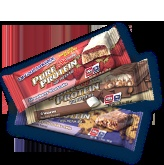 Pure Protein Bars - have anywhere from 18 to 32 grams of protein and only 4 grams of sugar or less!