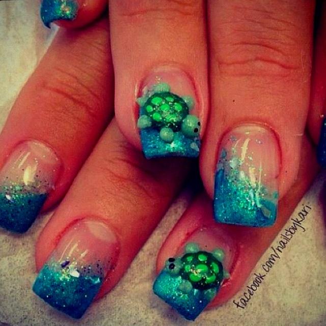 Turtle Nails....I'm Sooooo in love