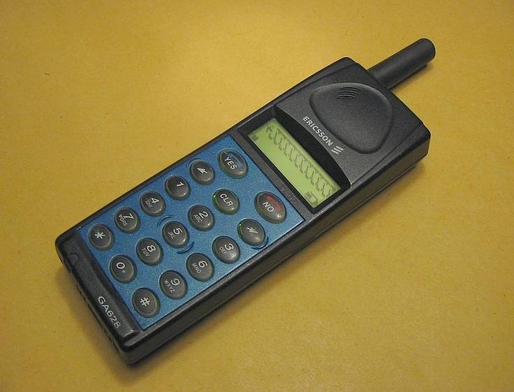 My second phone: Ericsson GA628