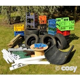 COSY COMPLETE LOOSE PARTS PANACEA (100 ITEMS)