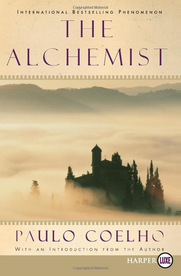 """""""The Alchemist"""" by Paulo Coelho. One of my favorite books of all time."""