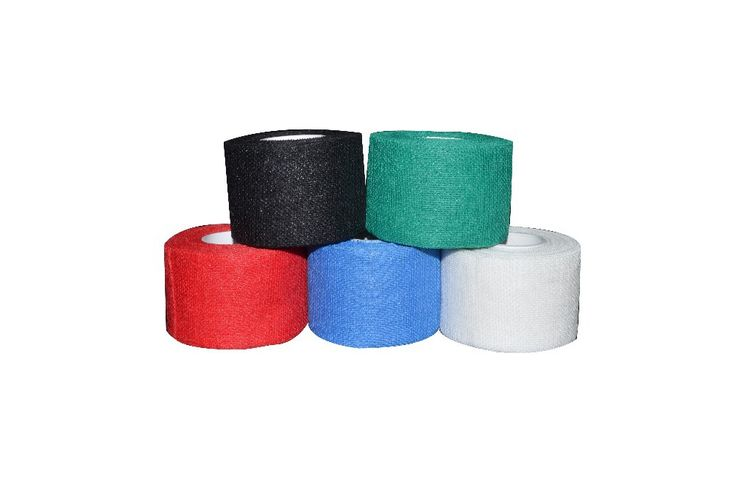 5 rolls/ロット3.8センチ× 9.1メートルガーゼゴルフテープgテープアイスホッケーグリップテープ良いグリップ用ホッケー手袋防ぐ眠っテープ