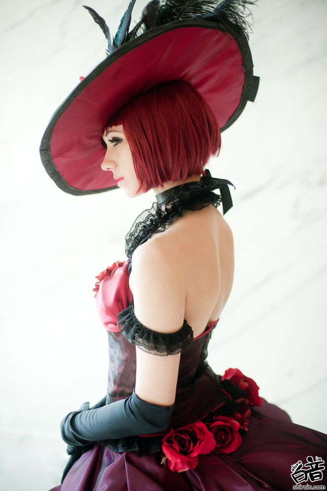 Madam Red cosplay by Bur Loire | Anime: Black Butler |Beautiful she's one of my favorite characters!