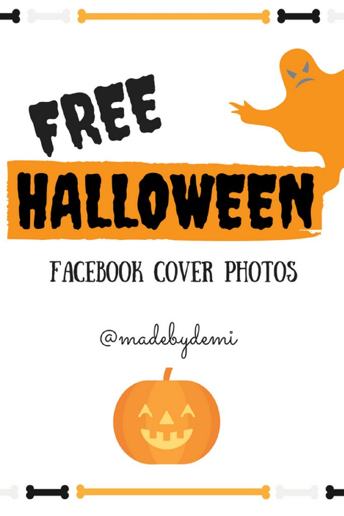Free Halloween-themed Facebook cover photos. Halloween images for your timeline.