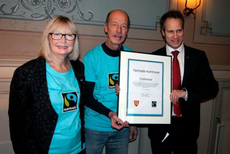 Fredrikstad er blitt Fairtrade-kommune   FB