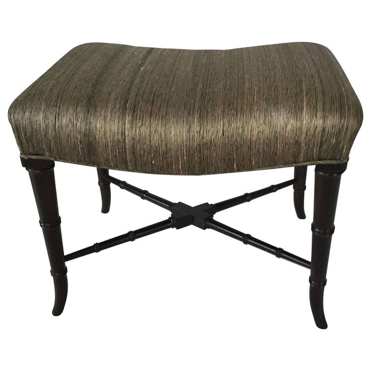 Faux Bamboo Midcentury Bench  | From a unique collection of antique and modern benches at https://www.1stdibs.com/furniture/seating/benches/