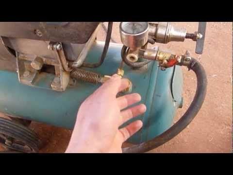 Graduar El Aire En El Compresor Para Pintar - YouTube