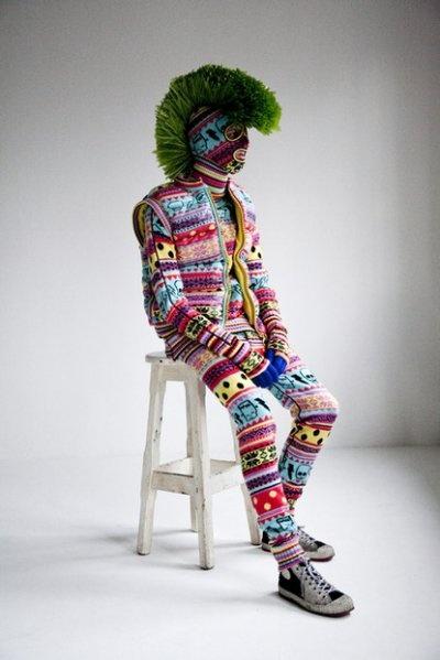 FS036 Multicolor Punk