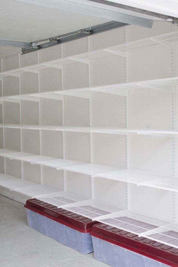 25 best ideas about garage shelving on pinterest. Black Bedroom Furniture Sets. Home Design Ideas