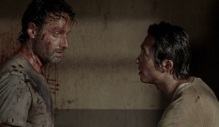 Viewers were shocked and heartbroken by the death of Glenn in The Walking Dead season premiere, but image how Rick Grimes must feel.