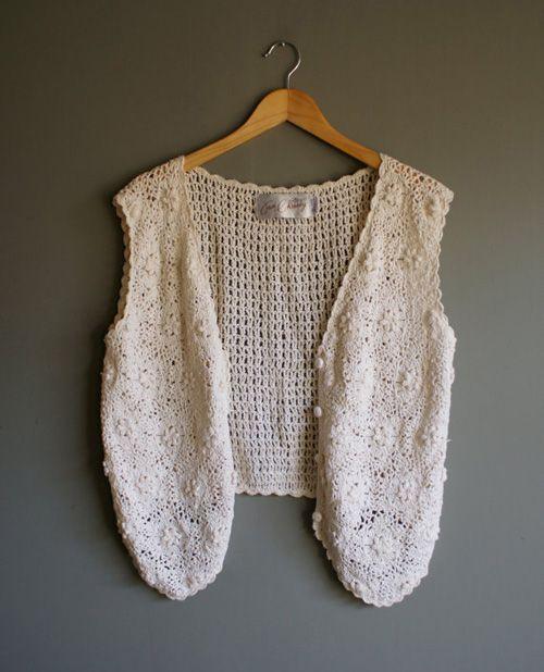 Chalecos tejidos a crochet para mujer05