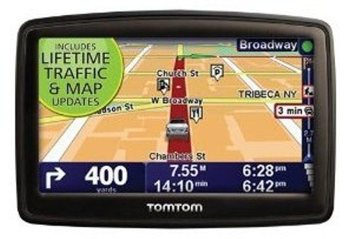TomTom XXL 540TM 5-Inch Widescreen Portable GPS Navigator (Lifetime Traffic & Maps Edition)(Discontinued by Manufacturer)