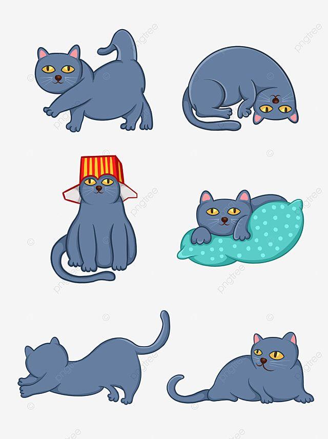 Gambar Elemen Desain Kartun Kucing Lucu Kucing Kartun Kucing Ilustrasi Kucing Png Transparan Clipart Dan File Psd Untuk Unduh Gratis ในป 2021 ภาพประกอบแมว แมว ล กแมว