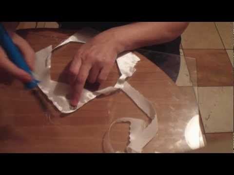 ▶ Как резать ткань.Гильоширование. - YouTube