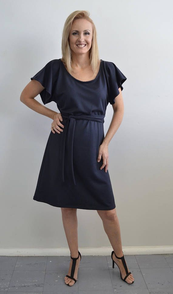 Flattering Black Dress super comfortable and Stylish for work