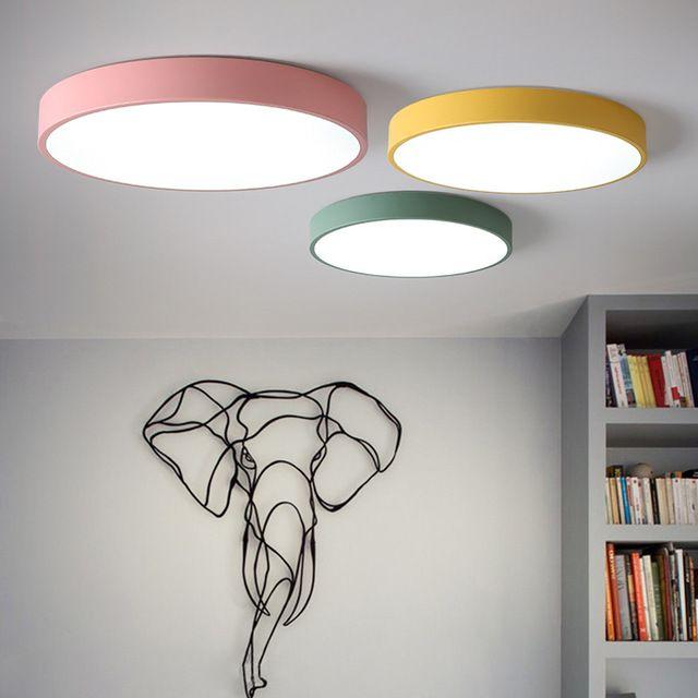 Super Mince Potenco Le Nordique Dans Led Plafonnier Lampe Plafond l1FcKJT