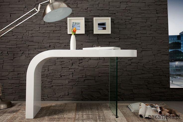 meble - domowe biuro - biurka-Biurko Oxygen White 120cm (Z35272)