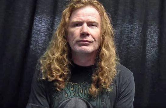 """Dave Mustaine  """"Tan pronto como Venezuela sea libre, seré de los primeros en ir a tocar"""""""