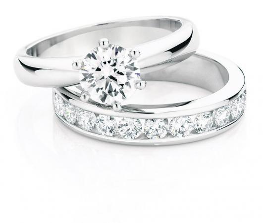 Canadian Fire diamond rings from Daniels Showcase Jewellers.