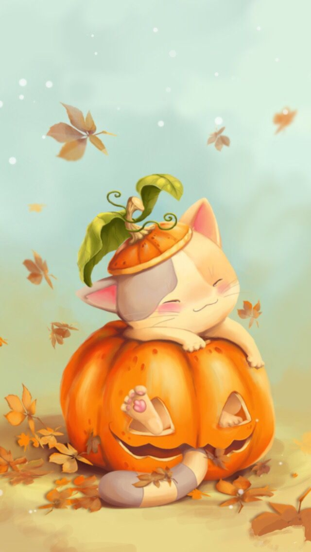 Iphone Halloween Wallpaper Funny Ipcwallpapers In 2020 Halloween Wallpaper Fall Wallpaper Thanksgiving Wallpaper