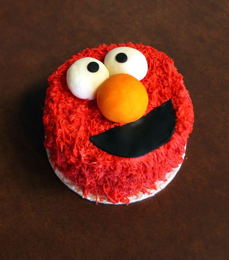 Best 25+ Elmo Smash Cake Ideas On Pinterest